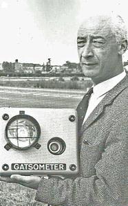 Maus Gatsonides, uitvinder van de aantikplaat en de flitspaal
