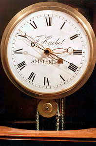 Regulateur van de Duitse Nederlander Friedrich Knebel