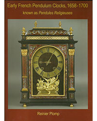 Early French pendulum clocks known as religieuses